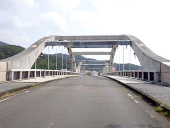 奄美大島の古仁屋コーラル橋/海浜公園