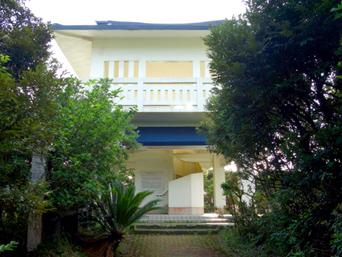 奄美大島の蒲生崎観光公園/蒲生神社/絆の池「竜宮城みたいな展望台」