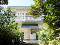 奄美諸島 奄美大島の蒲生崎観光公園/蒲生神社/絆の池の写真