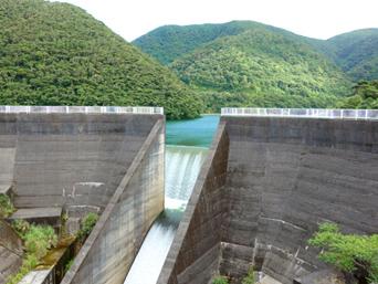 大川ダム&轟の滝