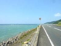 奄美大島の知名瀬周辺の海 - シーサードロードが多い奄美北西部