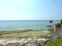 奄美大島の大和村周辺の西側の海の写真
