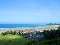 奄美大島のあやまる岬 - 陸側の景色もなかなかいい感じ