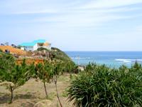 奄美大島のアオンのリーフ展望所の写真