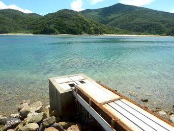 奄美大島の倉木崎海底遺跡