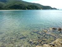 奄美大島の倉木崎海底遺跡 - 泳ぐ雰囲気の場所ではありません