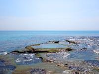 奄美大島のハート岩/ハートロック - 潮の干満にかなり影響有り