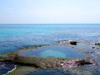 奄美大島のハート岩/ハートロック - 満ち始める時間は要注意