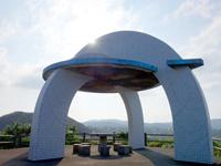 奄美大島のあやまる岬観光公園展望台