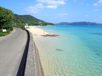 倉崎までのシーサイドロード