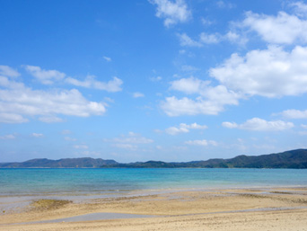 奄美大島の芦徳海岸
