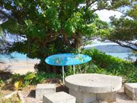 奄美大島の芦徳海岸 - 地元人の憩いの場所のようです