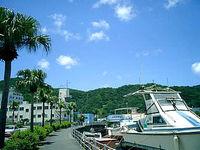 奄美大島の名瀬の町並み