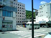 奄美大島の名瀬の町並みの写真