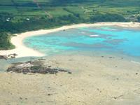奄美大島の土盛海岸/ビーチ - ビーチ入口