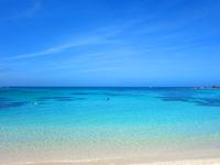 奄美大島の土盛海岸/ビーチ - とにかく広いビーチです