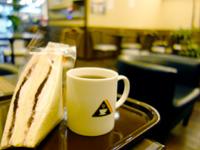 奄美大島の奄美サンドイッチカフェ/名瀬郵便局前バス停 - 名瀬郵便局バス停の目の前