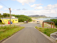 奄美大島の手広海岸の写真