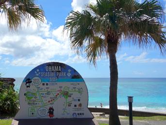 奄美大島の大浜海浜公園/大浜ビーチ「名瀬市街から最も行きやすいビーチ」
