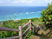 奄美大島の大浜海浜公園/大浜ビーチ - 高台からの方が良い景色