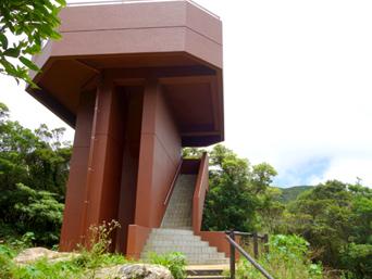 奄美大島の湯湾岳展望台