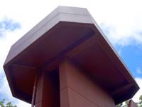 奄美大島の湯湾岳展望台 - 朝日と大島海峡と山々の景色