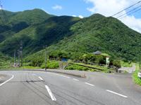 奄美大島の戸円海岸/ふれあいパーク戸円 - 戸円海岸を見下ろすことができます