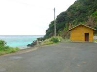奄美大島の船越海水浴場/ふのし海岸の写真