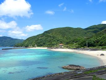 奄美大島のタエン浜海水浴場「とても整備されていて綺麗なビーチです」