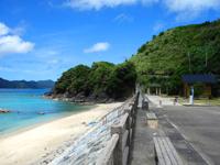 奄美大島の屋鈍海水浴場 - ビーチ自体は奄美一キレイかも?