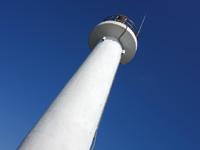 奄美大島の須手の灯台/瀬戸埼灯台/岬からの景色の写真