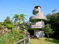 奄美大島の高知山展望台 - 展望台は4階建て