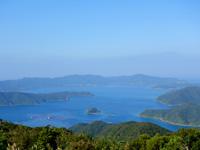 奄美大島の油井岳展望台 - 大島海峡の景色は高知山よりこっち!