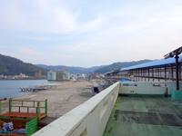 奄美大島の名瀬新港 - 大型船が到着する港