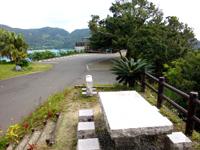 奄美大島のマネン崎展望台 - 最近テーブルも出来てその先も工事?