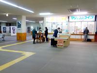 奄美大島の名瀬新港ターミナルの写真