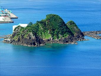 奄美大島の山羊島「ヤギのオブジェが印象的」