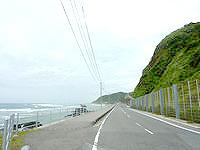 奄美大島の佐仁海浜の写真