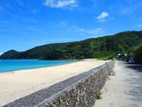 奄美諸島 奄美大島の国直海岸の写真