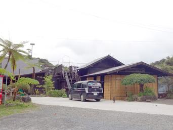 奄美大島のマングローブ茶屋