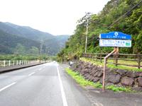 奄美大島のマングローブ原生林/ヒルギ群生地 - 国道沿いの高台からの景色はイマイチ
