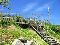 下地島の展望所