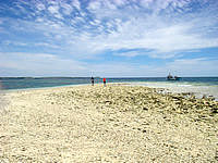 新城島の幻の島/西表島南のバラスの写真