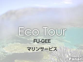 新城島のFU-GEEマリンサービス「石垣島からでもパナリツアーが楽しめます」