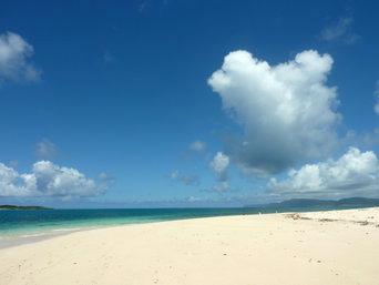 南の浜/下地側の浜
