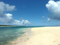 新城島の南の浜/下地側の浜の写真
