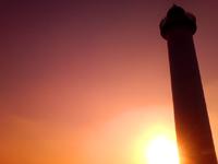 中部の残波岬/残波岬公園 - 西岸だけど朝日も望めます!