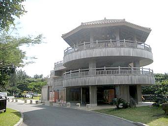 中部の浦添大公園 展望台