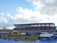 中部の沖縄市コザ運動公園の写真