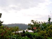 中部の世界遺産の見える展望台 - 肝心の世界遺産がある東側の景色はイマイチ